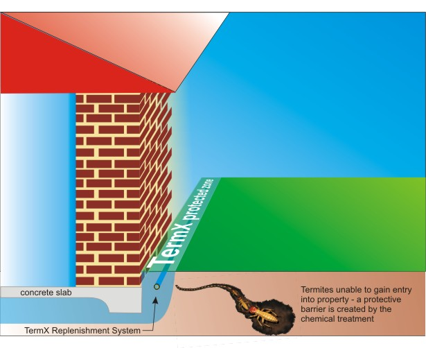 TermX Replenishment System Prevents Termites